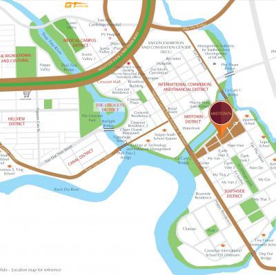 Cần bán căn hộ Midtown Sakura dự án đẹp nhất PHU MY HUNG