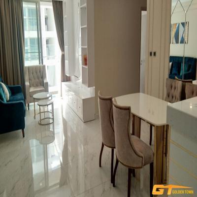 Cần cho thuê CHCC Midtown (M6) Grande, diện tích:90m2, 2PN, 2WC nhà cực đẹp, giá 900usd/tháng. LH 0906938884 Mr Hưng.