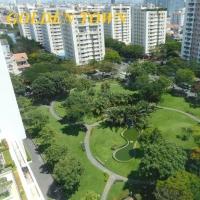 Căn hộ River Park Premium cho thuê - với thiết kế cấp cao, đồ nội thất châu âu.
